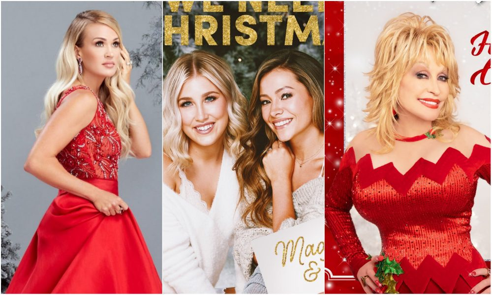 Celebrate the Holidays With 2020's Country Christmas Releases