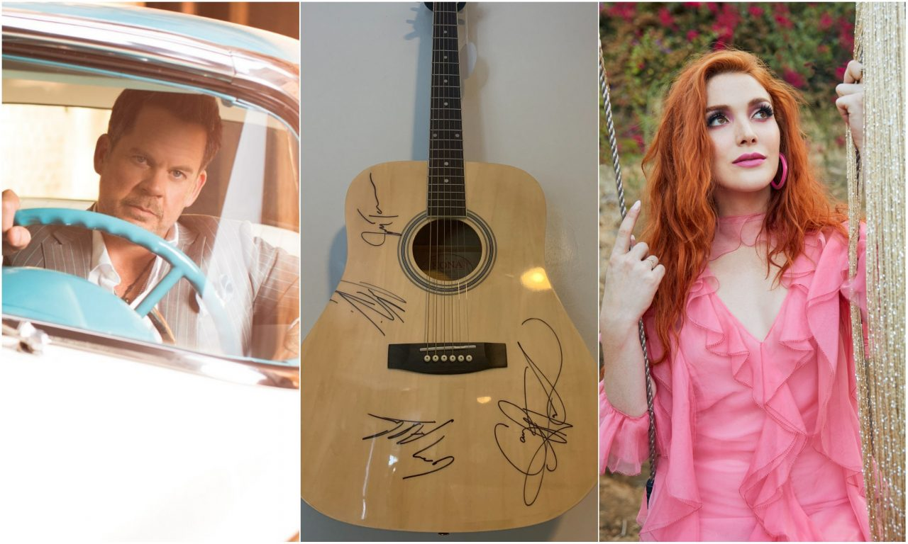 Enter For Your Chance to Win a Signed 'Country Outdoors Guitar'