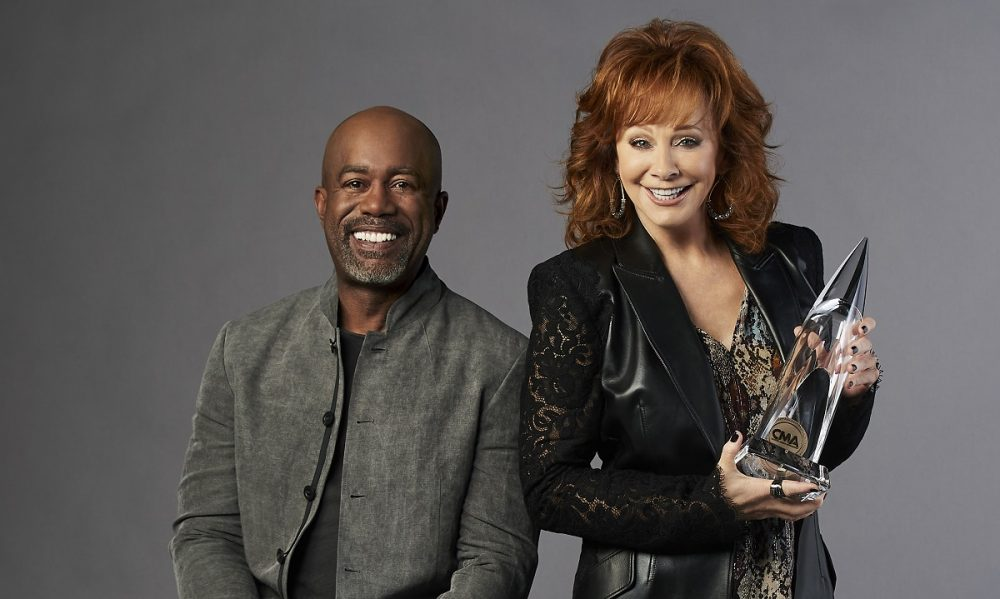 Reba McEntire and Darius Rucker To Host 54th Annual CMA Awards