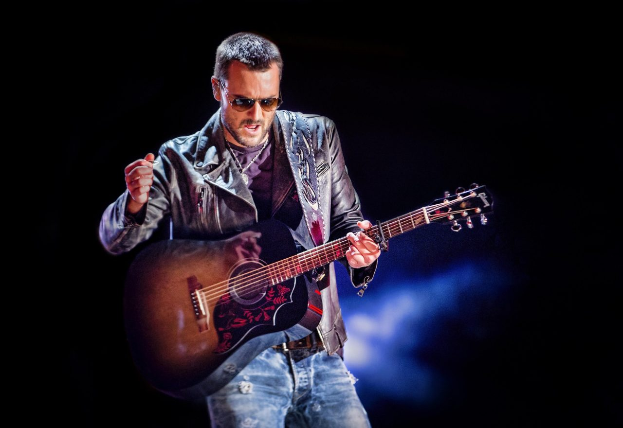 Eric Church Gets Vaccinated on the Cover of 'Billboard'