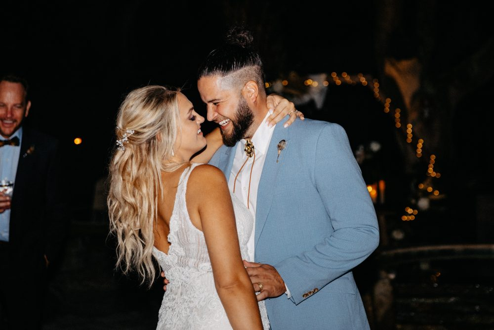 Country Newcomer Filmore Marries Fiancée, Paige Korte