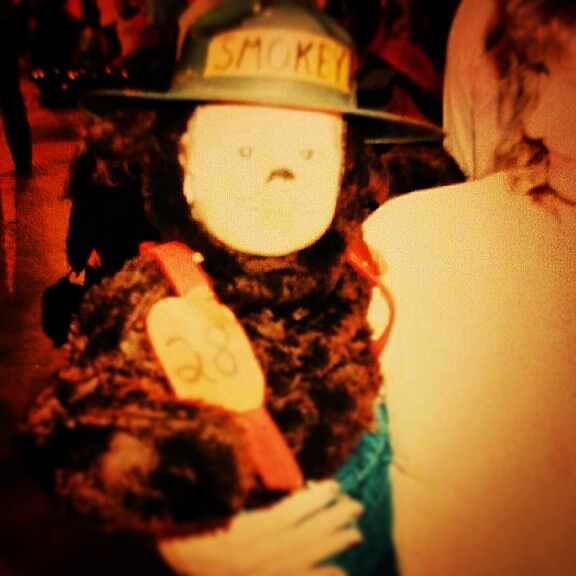 Michael Ray Smokey Bear Halloween Costume