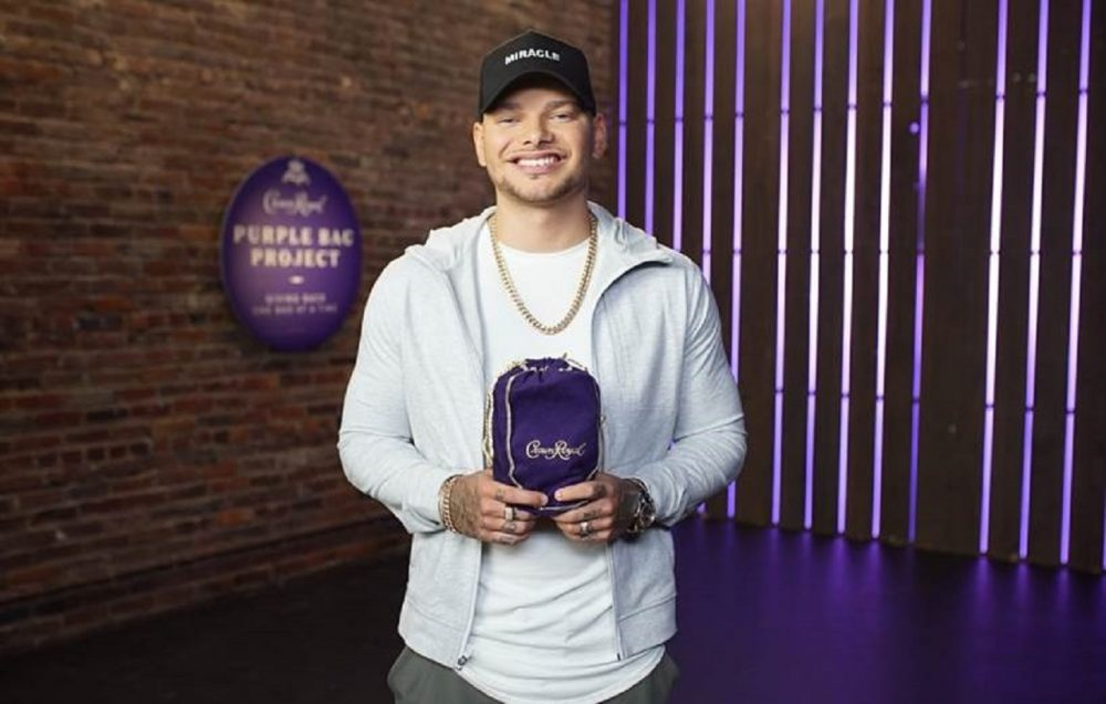 Kane Brown and Crown Royal Step Up to Support American Heroes