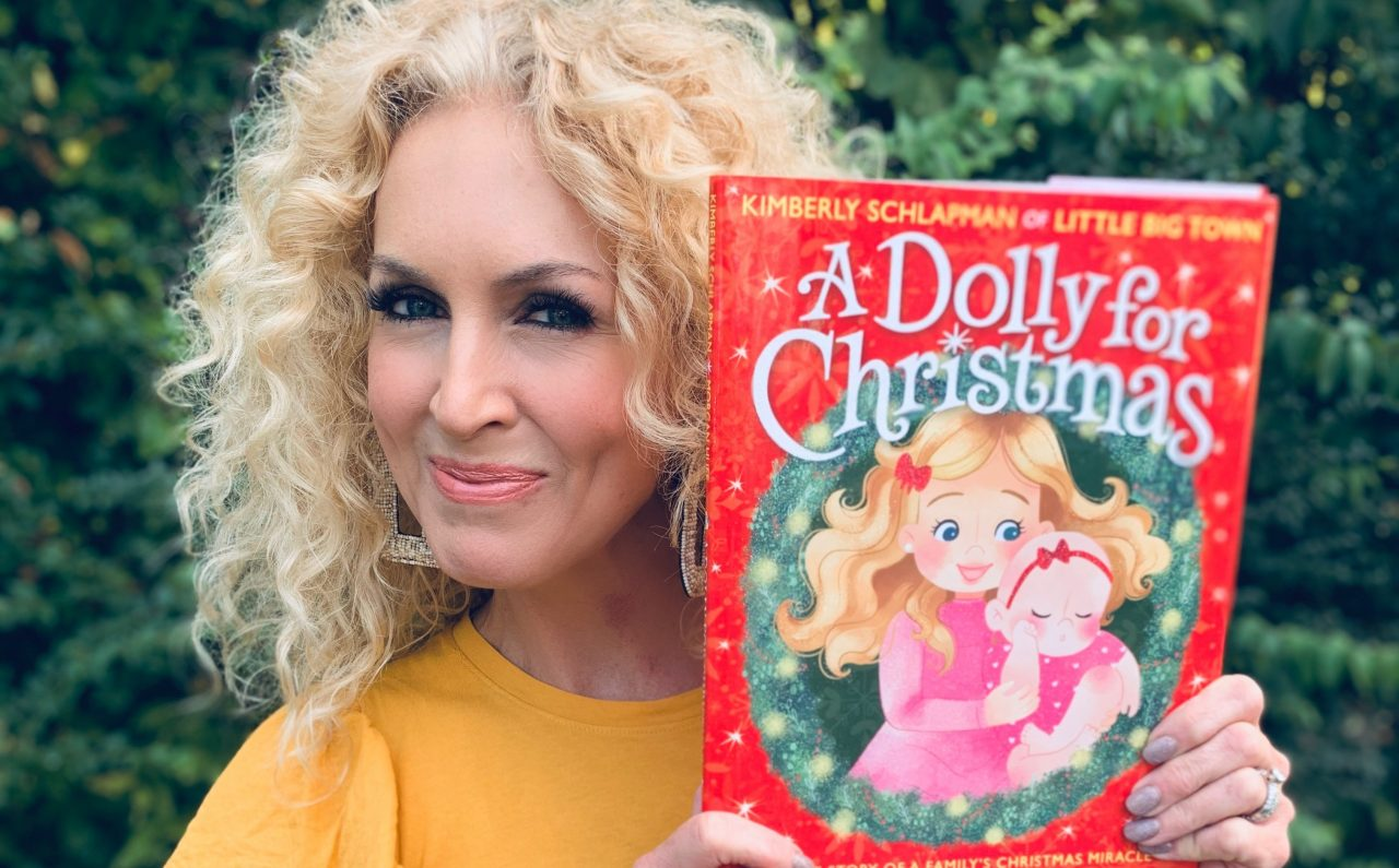 Enter for a Chance to Win a Copy of Kimberly Schlapman's 'A Dolly For Christmas'