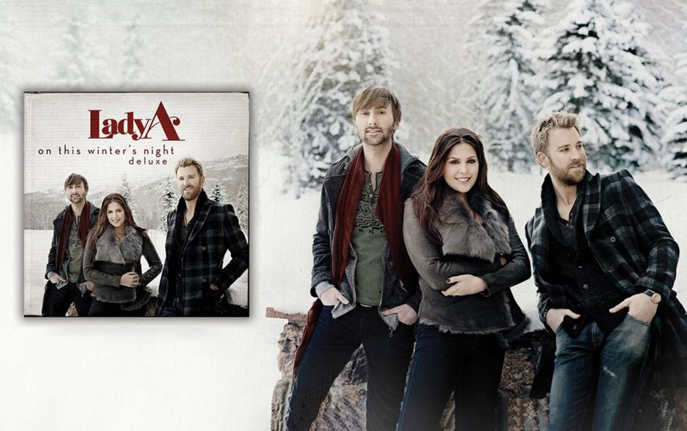Lady A To Release 'On This Winter's Night (Deluxe)' Christmas Album