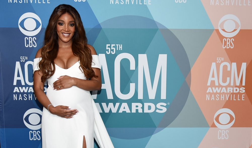 Mickey Guyton Reveals She's Having A Boy: 'I Pray For Him'