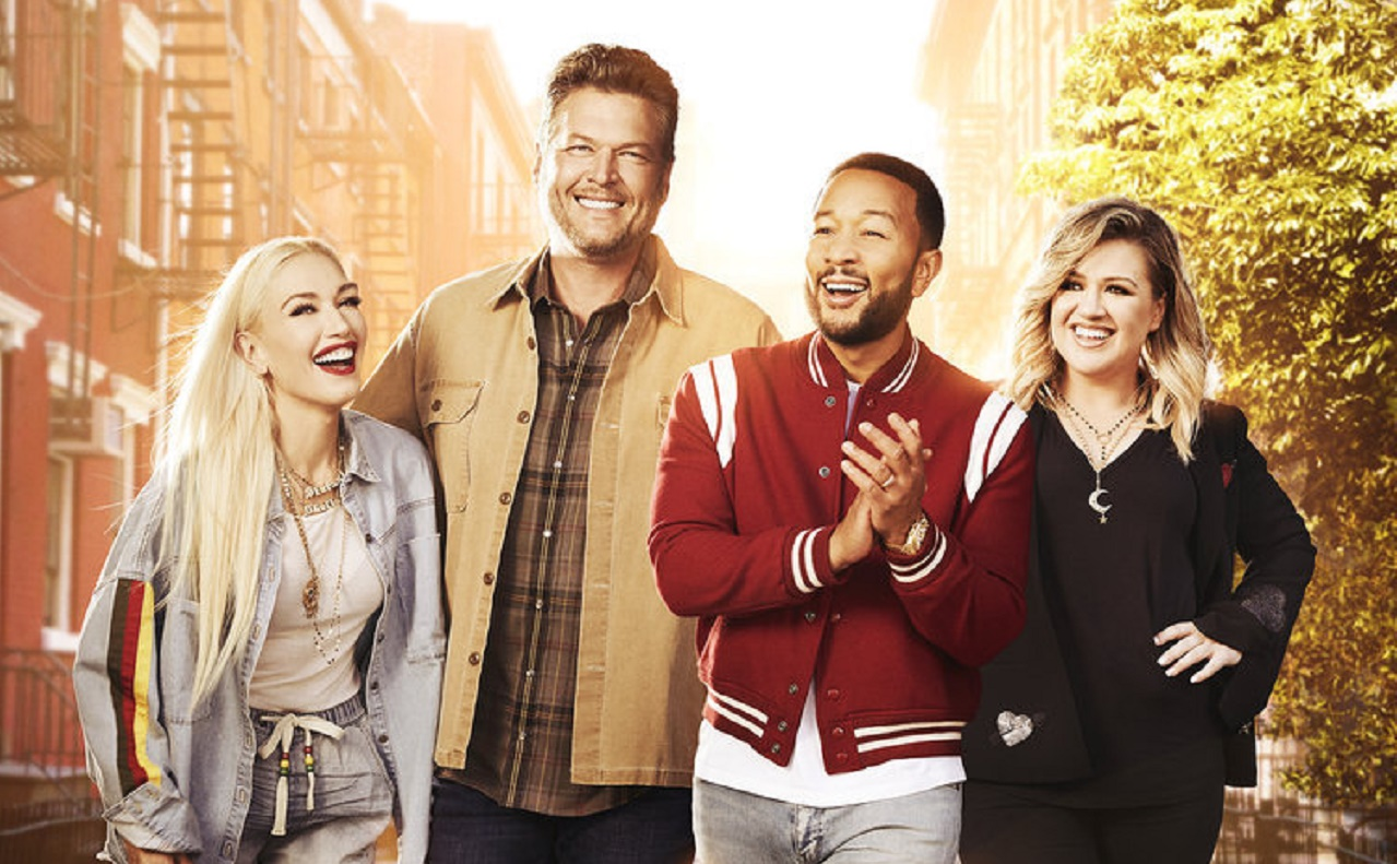 'The Voice' Coaches Come Together To Sing 'One Love'
