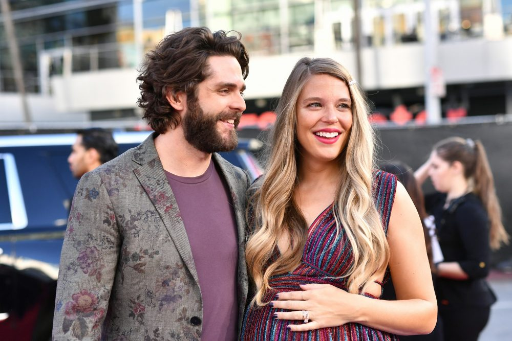 Thomas Rhett and Lauren Akins Talk Parenting on 'Reba' Podcast