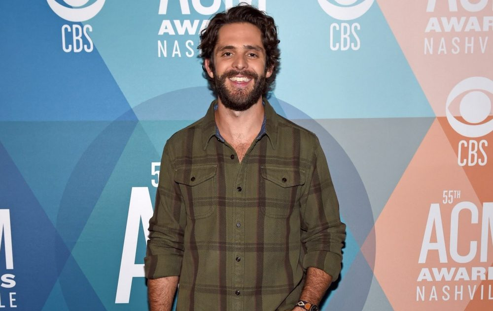 Thomas Rhett Admits He's 'The Dad That Brings His Giant Camera Everywhere'