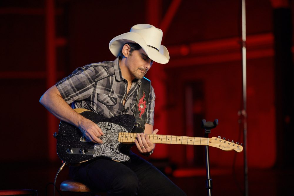 Brad Paisley and Fender Team Up for Signature Esquire Guitar