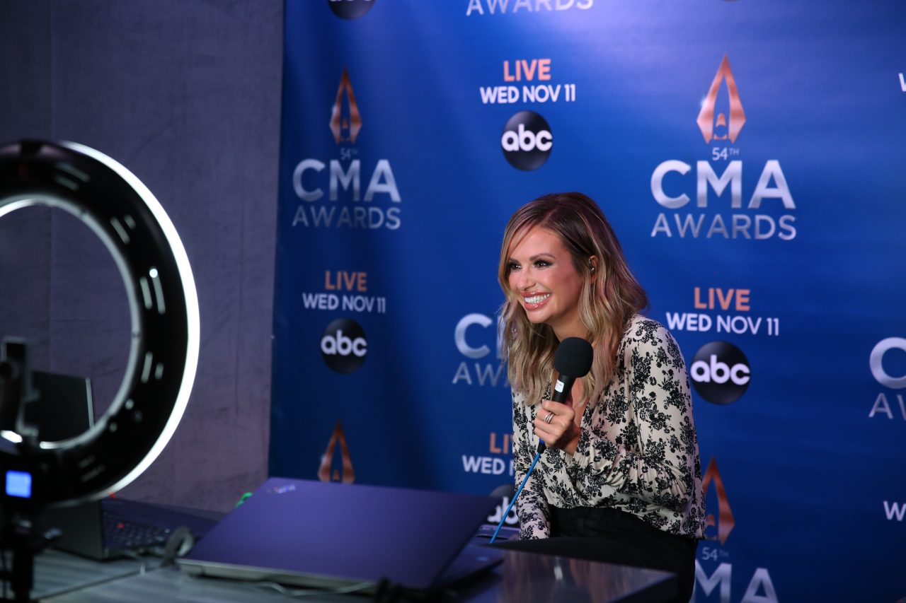Carly Pearce Finds Out She Won Musical Event of the Year While Doing An Interview
