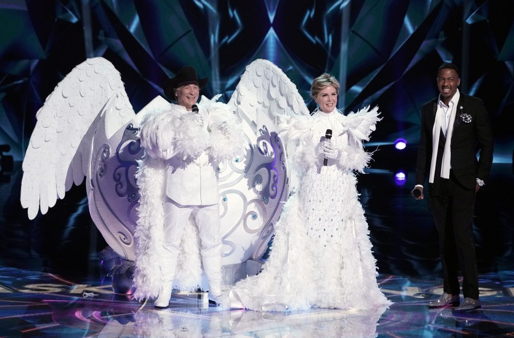 Clint Black and Lisa Hartman Black Unmasked from 'The Masked Singer'