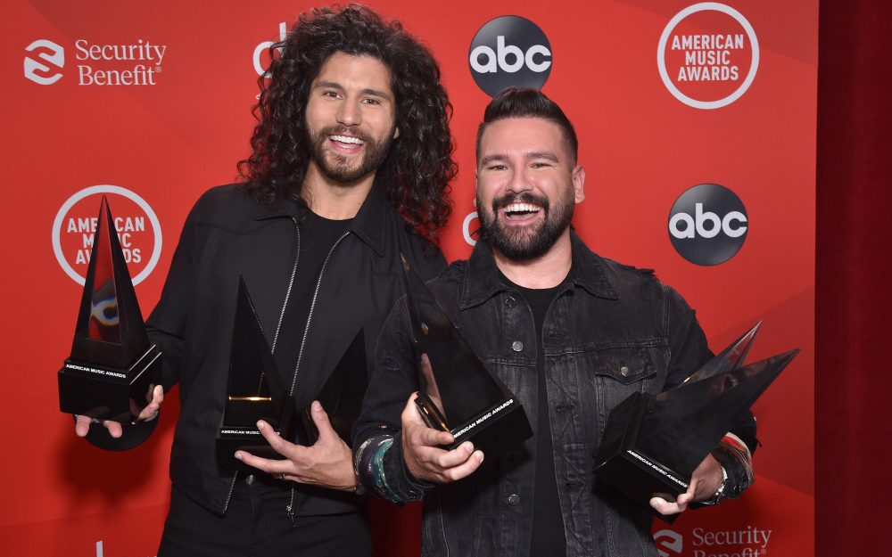 Dan + Shay Dominate the 2020 American Music Awards