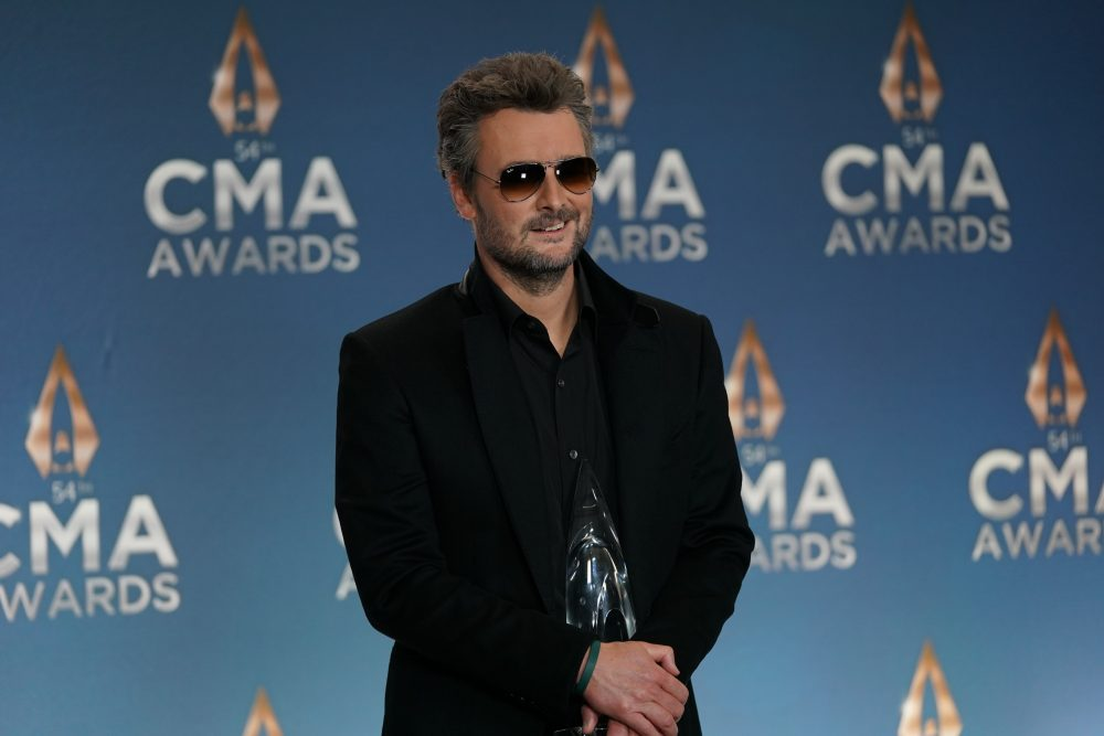 Eric Church Is Thankful For The Important Things This Thanksgiving