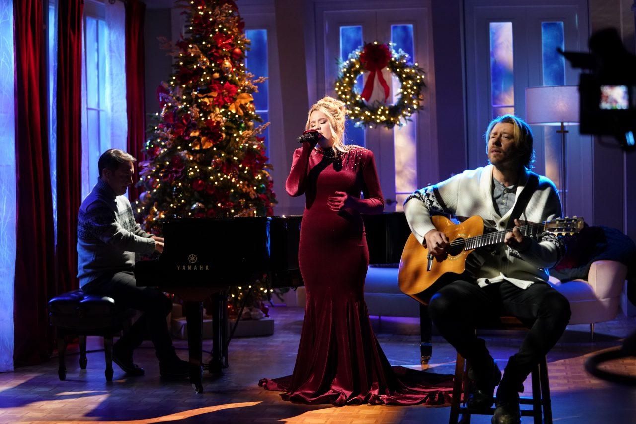 Gabby Barrett Sparkles on CMA Country Christmas Special