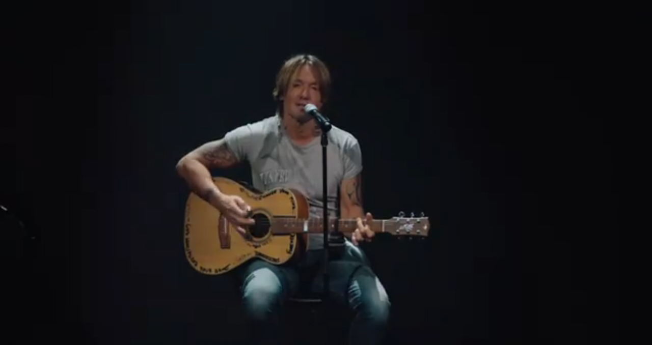 Keith Urban Honors Frontline Workers With 'God Whispered Your Name' at CMA Awards