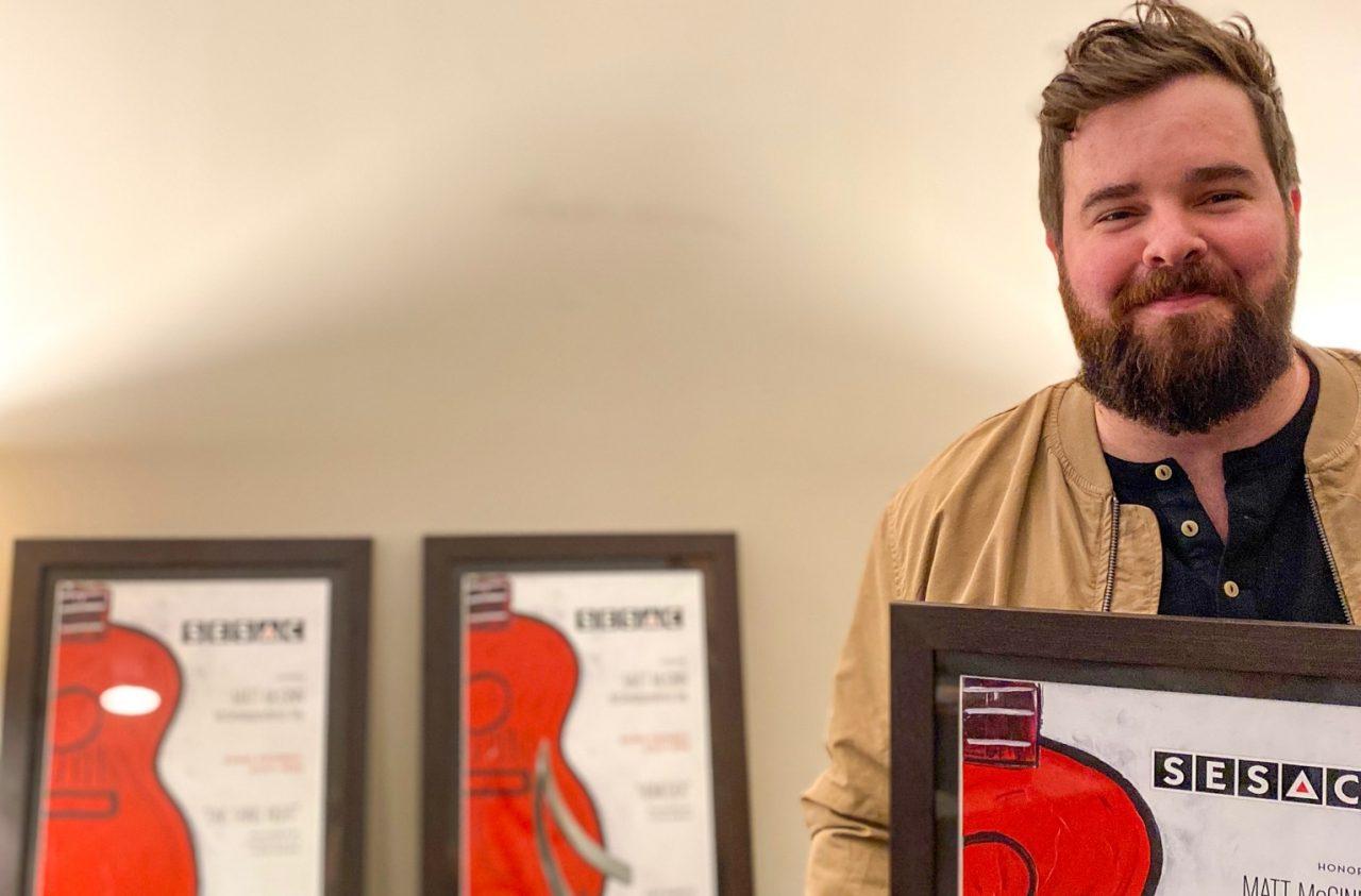Matt McGinn Named SESAC's 2020 Songwriter of the Year