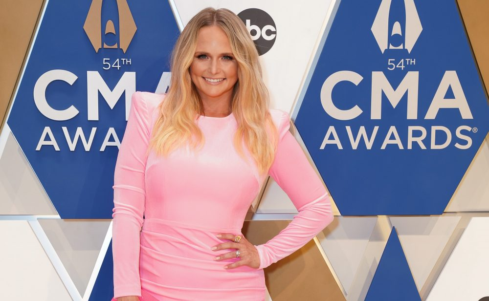 Miranda Lambert Ropes Cowgirl Hall of Fame Induction