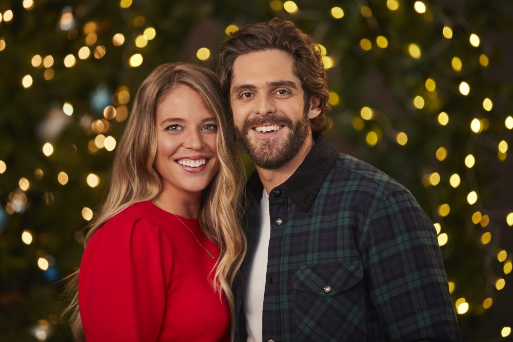 Thomas Rhett, Russell Dickerson, Tyler Hubbard and Friends Reunite for Annual Christmas Caroling