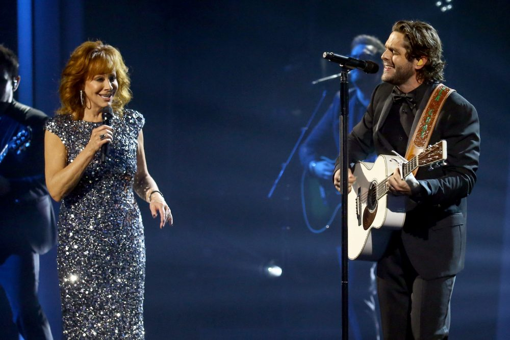 Thomas Rhett Leads 'Be A Light' Collab Performance on CMA Awards