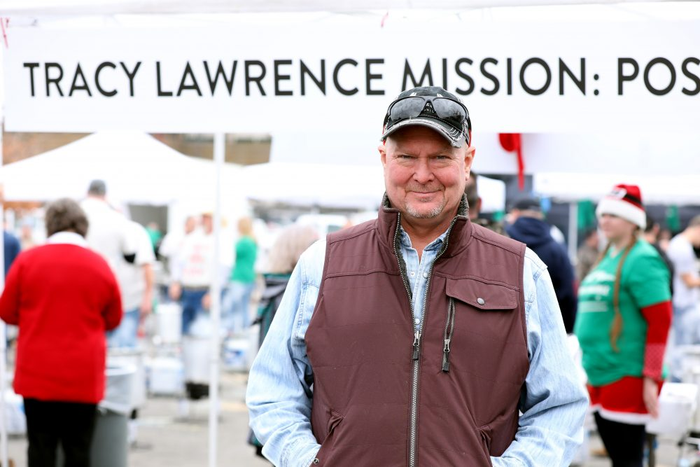 Tracy Lawrence Announces 15th Annual Thanksgiving Turkey Fry