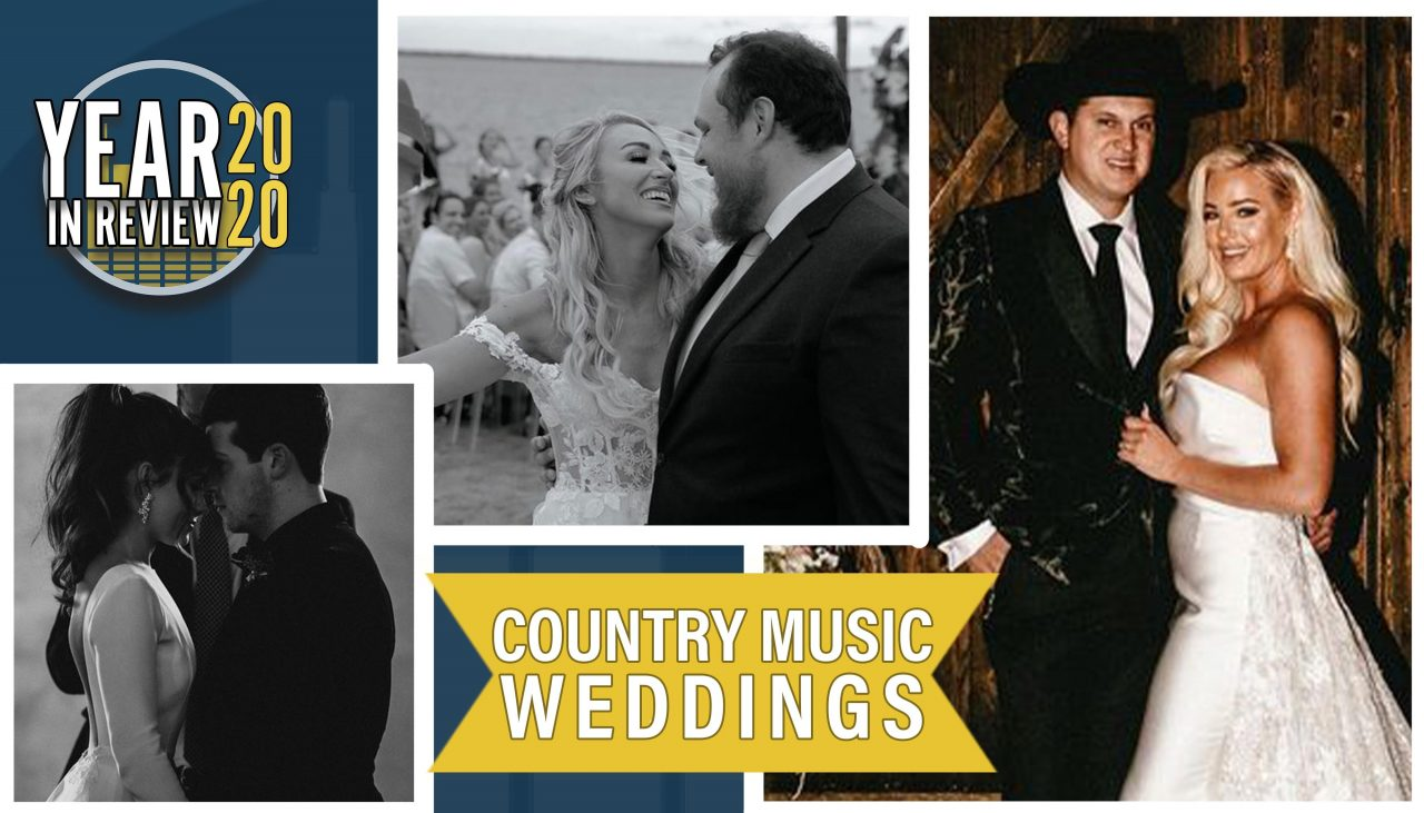 Year In Review: 2020's Country Music Weddings