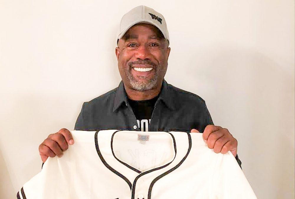 Darius Rucker Takes a Swing at Bringing the MLB to Nashville