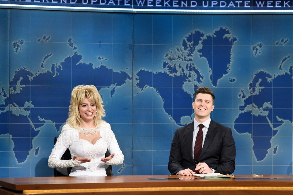 Check Out Saturday Night Live's Spot-On Dolly Parton Impersonation