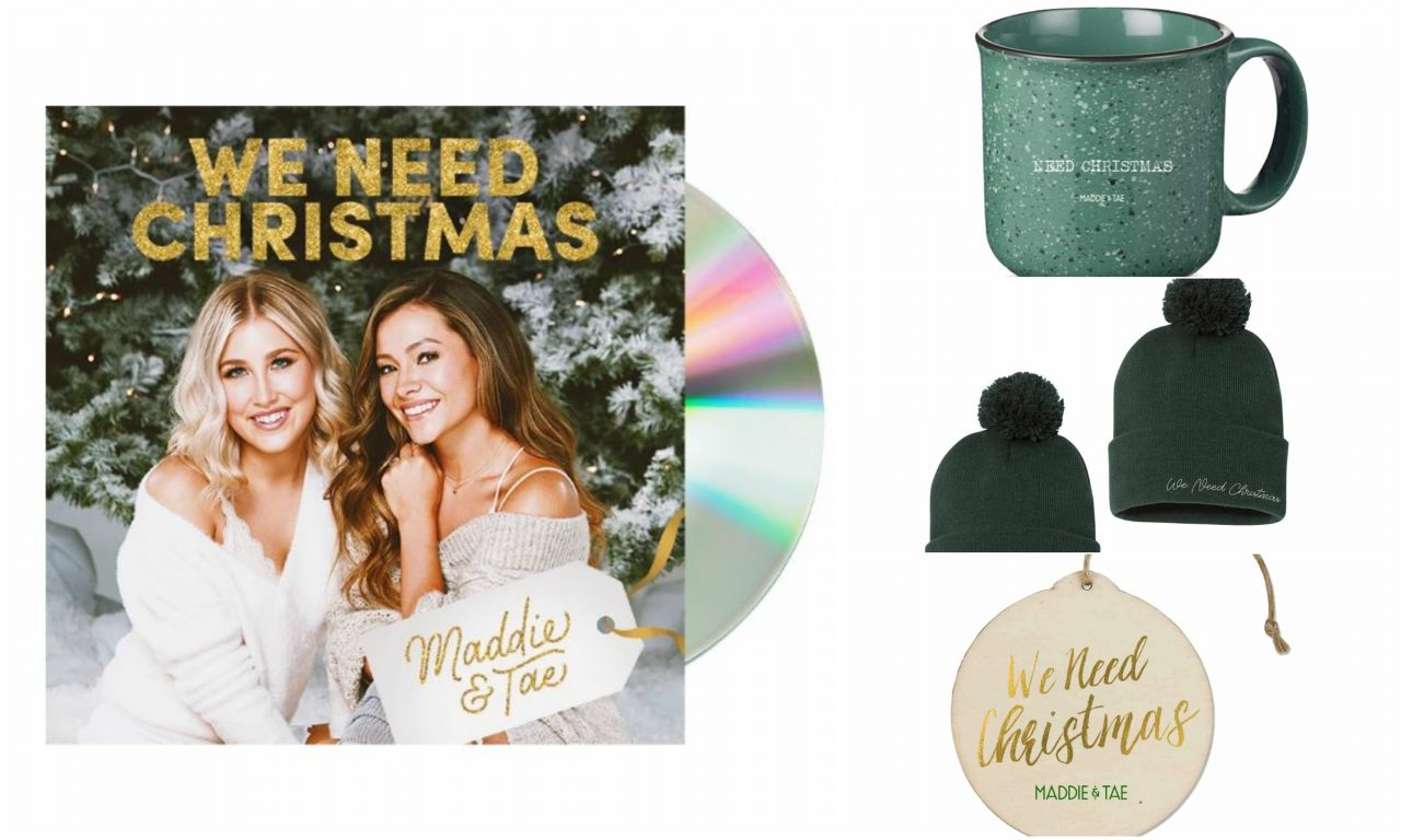 Enter For A Chance to Win a Maddie & Tae 'We Need Christmas Prize Pack'