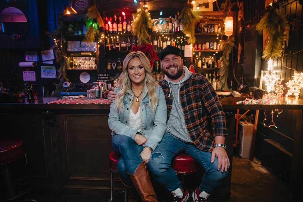 Mitchell Tenpenny and Girlfriend Meghan Patrick Have a 'Neon Christmas'