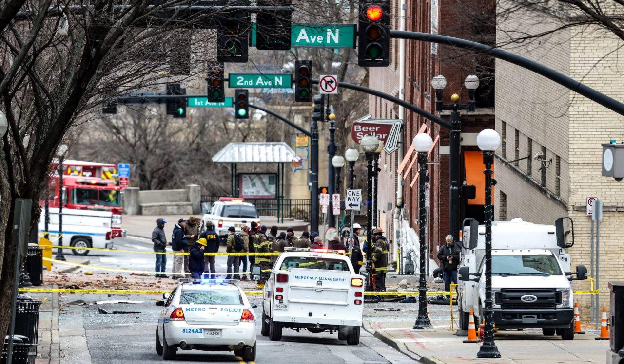 UPDATE: No Indication of Additional Threats Following Downtown Nashville Explosion
