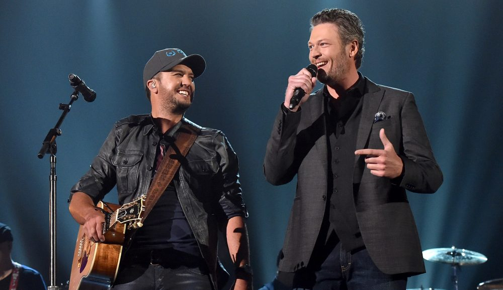 Luke Bryan and Blake Shelton Trade TV Judging Notes
