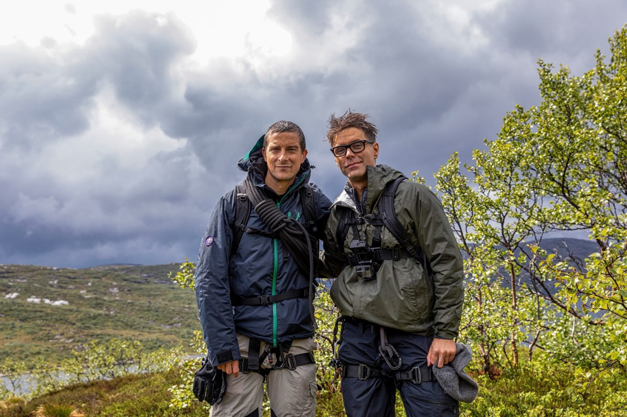 Bobby Bones and Fiancée Film 'Running Wild With Bear Grylls'