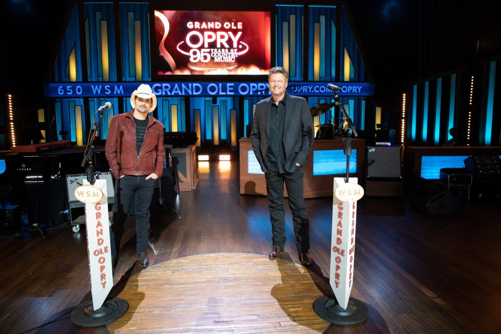 Brad Paisley and Blake Shelton to Host Grand Ole Opry TV Tribute