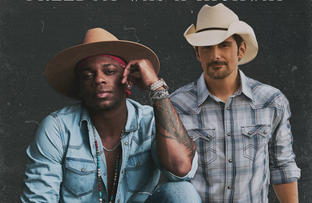 Jimmie Allen and Brad Paisley Cruise on 'Freedom Was a Highway'