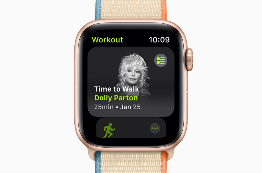 Dolly Parton Helps Get Apple Watch Users Walking