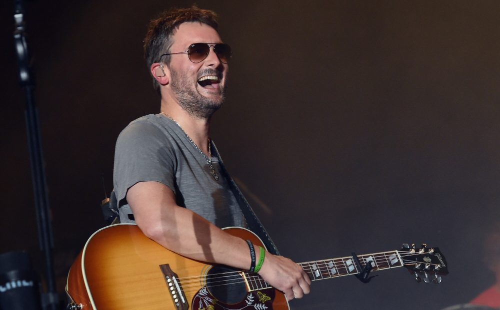 Eric Church Says He Never Expected to Sing the National Anthem
