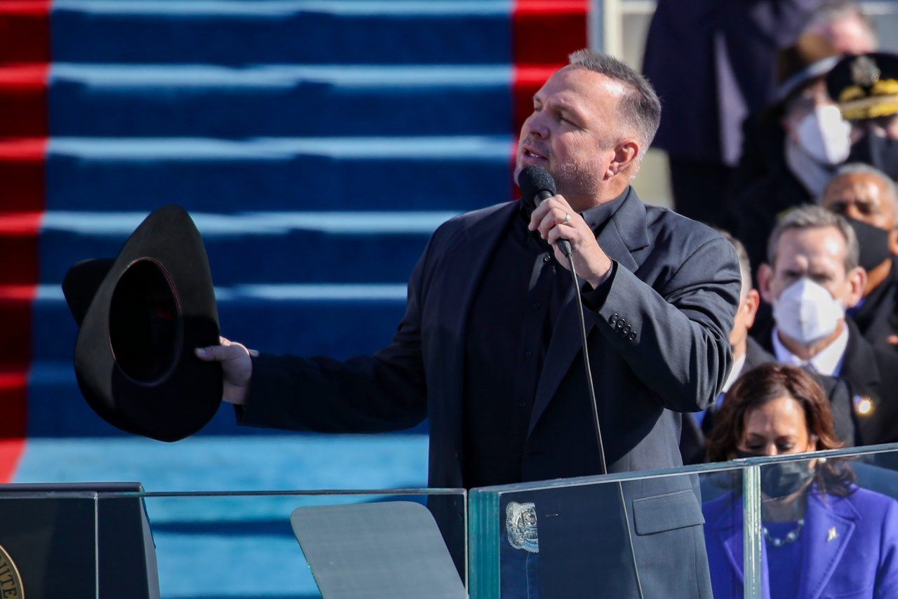 Watch Garth Brooks Sing 'Amazing Grace' at President Biden's Inauguration