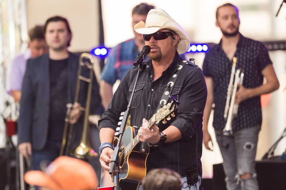 Toby Keith, Ricky Skaggs Awarded Medals as Trump Gets Impeached