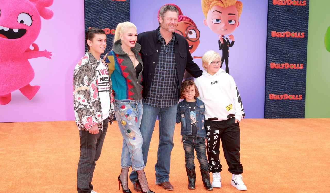 Blake Shelton Has Embraced His New Role as Step-Dad to Gwen's Kids