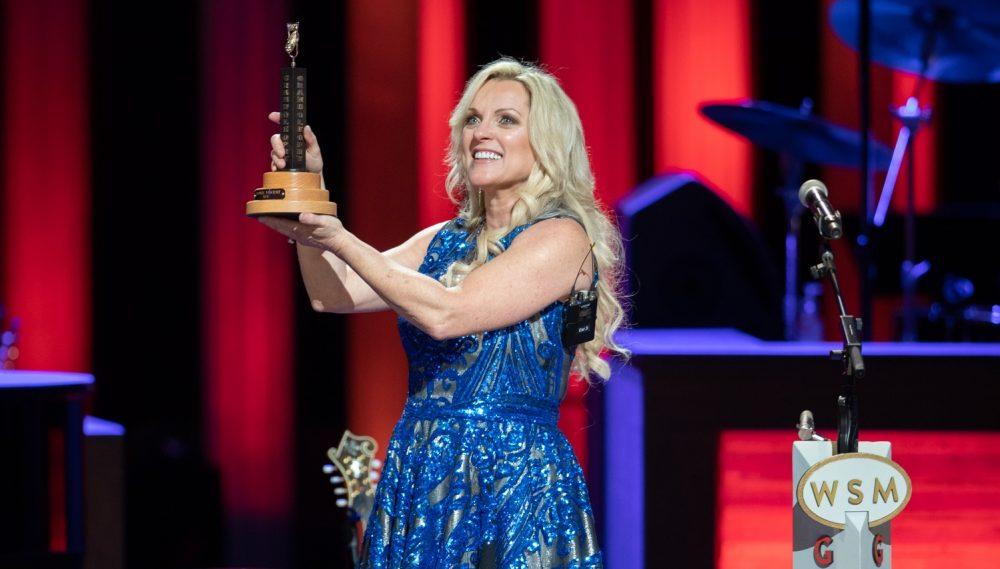 Rhonda Vincent Finally Inducted As Member of Grand Ole Opry