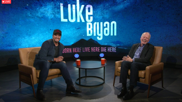 Luke Bryan Talks Evolving Business and COVID-19 Comeback at CRS