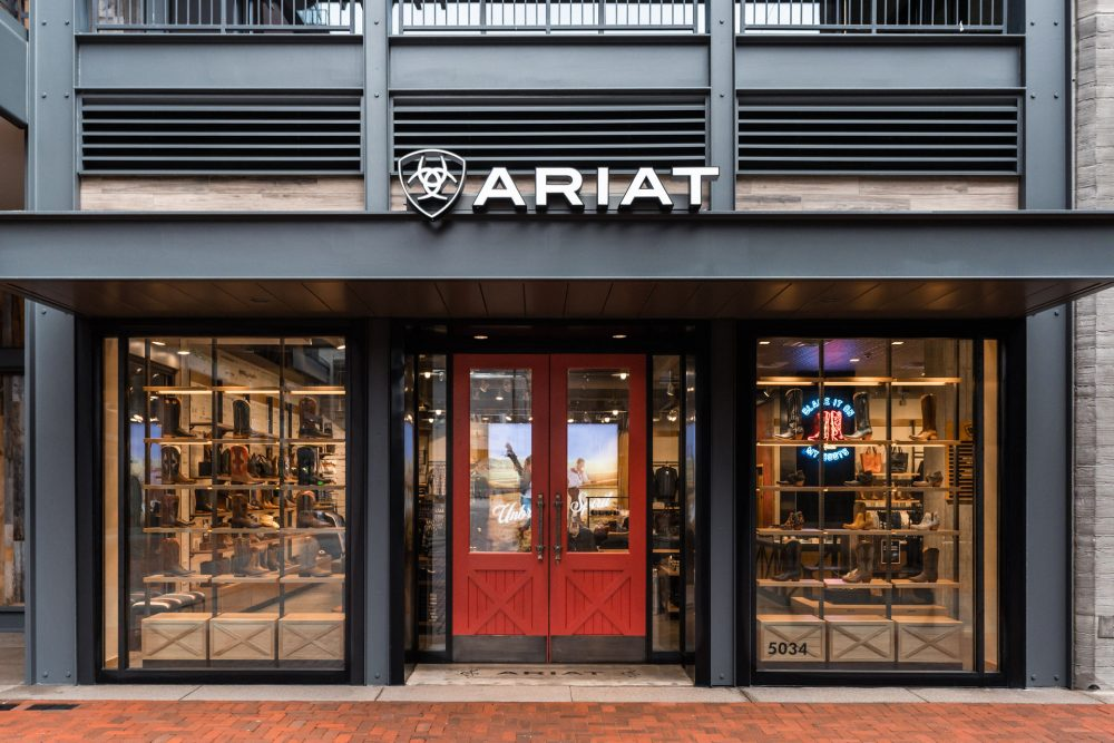 New Ariat Store at Nashville's Fifth + Broadway Aims to Give You the Boot