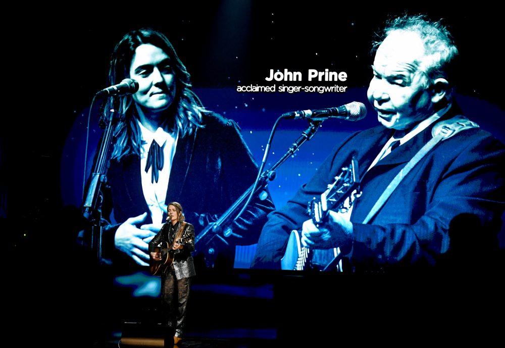 Brandi Carlile Honors John Prine With 2021 GRAMMYs Performance