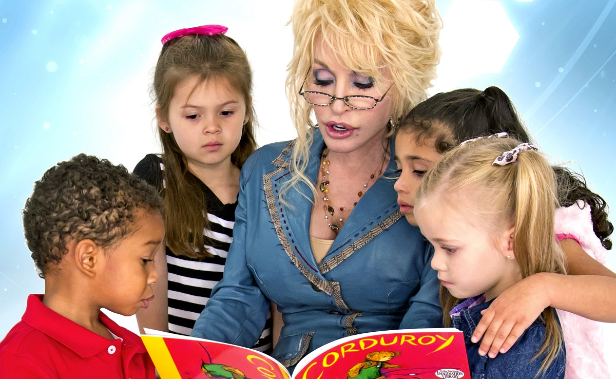 Dolly Parton Marks Read Across America Day for Millions of Kids