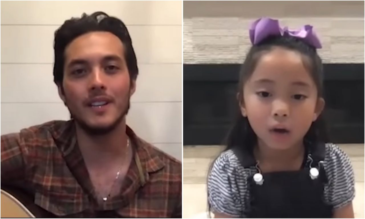 Laine Hardy Sings 'Ground I Grew Up On' With Young Fan On Zoom