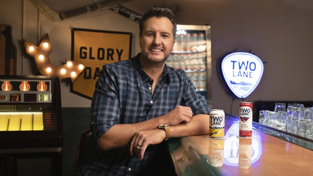 Luke Bryan Re-Launches Two Lane Beer and Hard Seltzer Brand