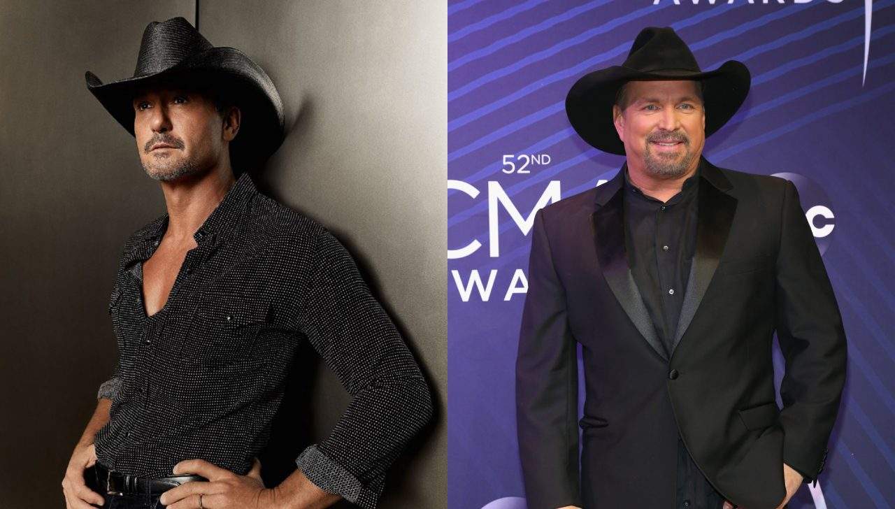 Tim McGraw Recalls Being a Bridesmaid With Garth Brooks