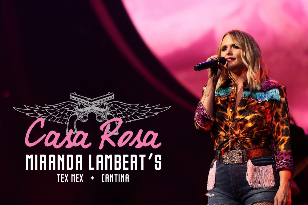 Miranda Lambert Reveals Details of Nashville Honky Tonk, Casa Rosa