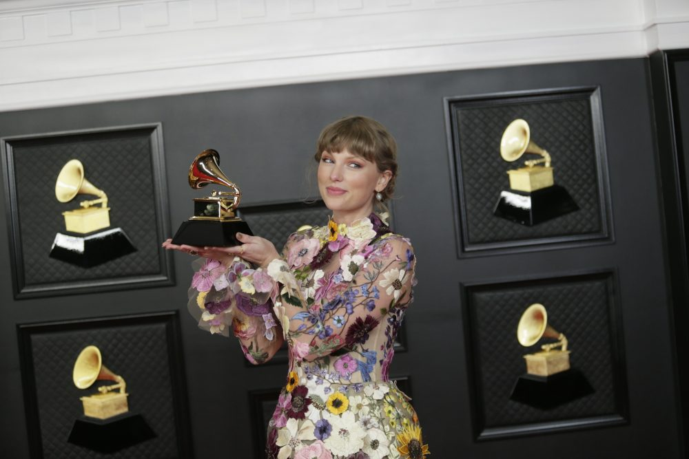 Taylor Swift Makes History With GRAMMYs Album of the Year Win